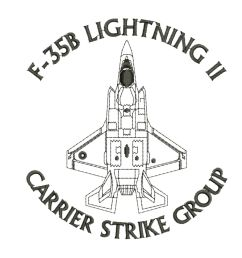 f 35b lightning ii carrier strike group f35 aircraft embroidered polo t shirt [ 1600 x 1600 Pixel ]